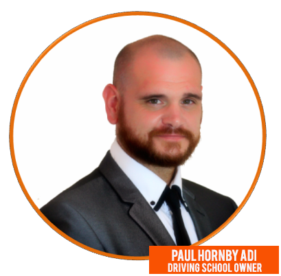 paul hornby driving instructor Blackpool