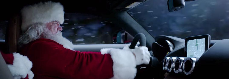 christmas blackpool driving
