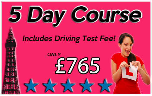 driving crash course blackpool
