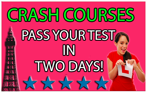 crash course driving blackpool