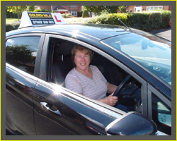 female driving instructor blackpool