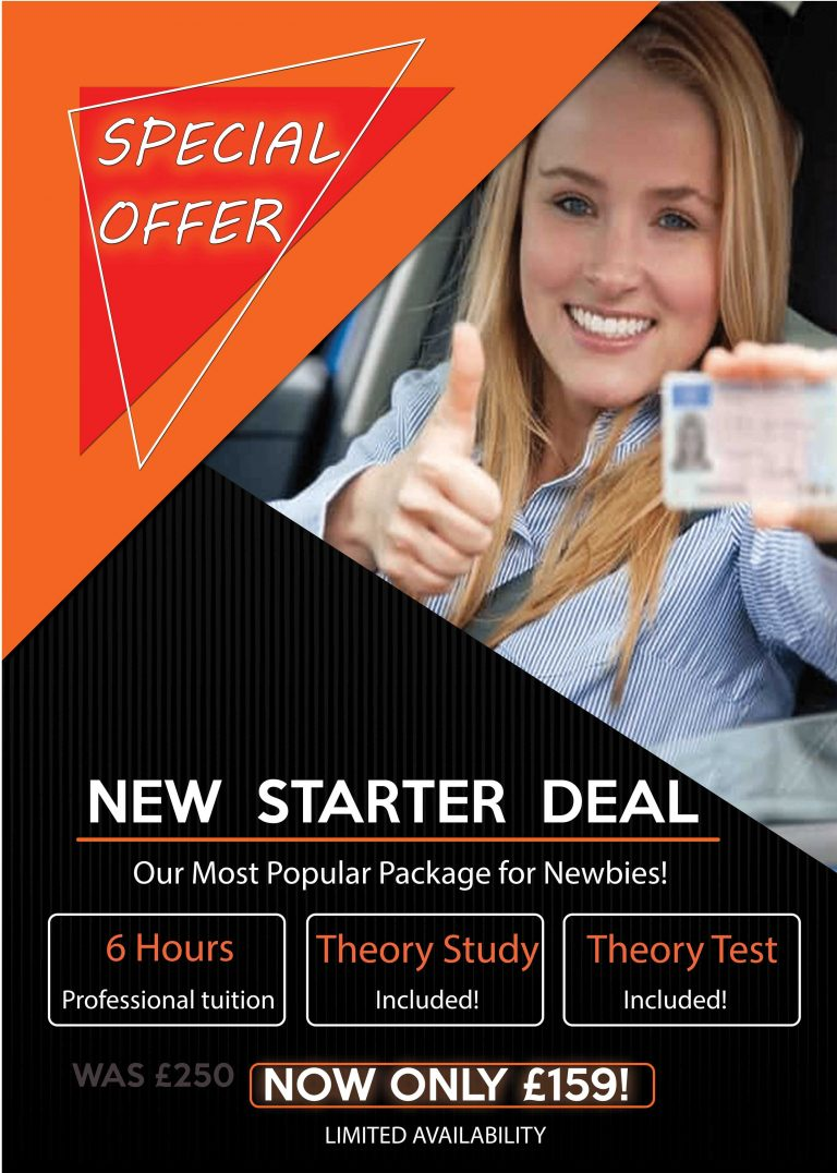 Driving lessons blackpool special offer