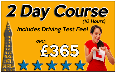 intensive driving course blackpool