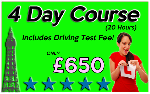 intensive course blackpool