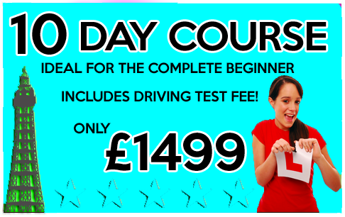 intensive driving courses blackpool